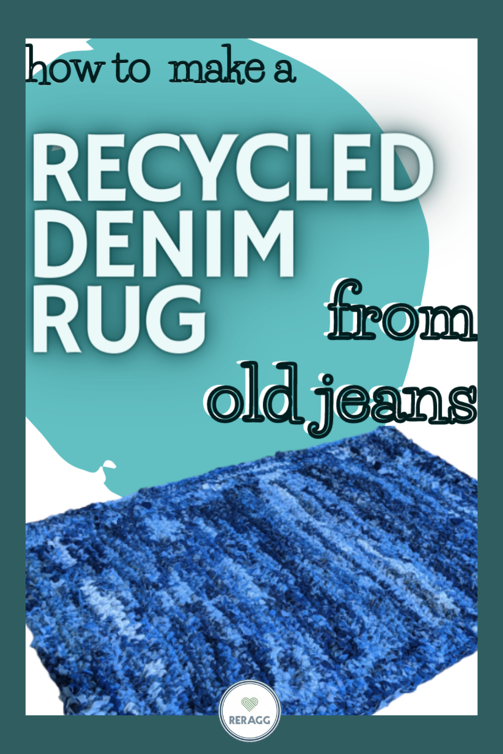 how to make a rug from old jeans