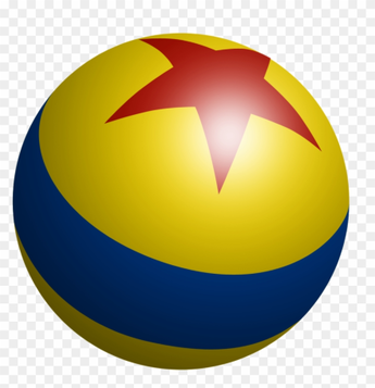 luxo ball cartoon version from the animated movie