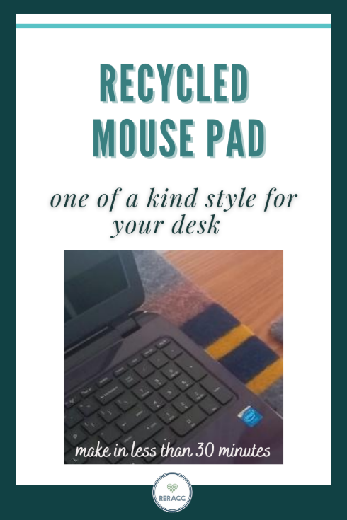 how to make a desk pad and blotter from scrap fabric